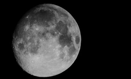 moon black and white header