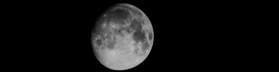 moon black and white header