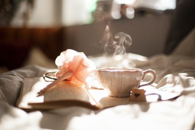 Carli Jean, tea, writing, pen