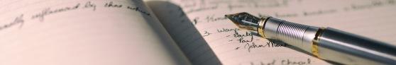 writing, paper, pen, fountain pen, Aaron Burden