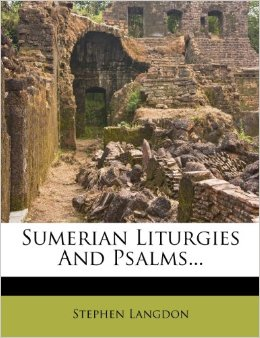 Book Cover Sumeria Liturgies and Psalms