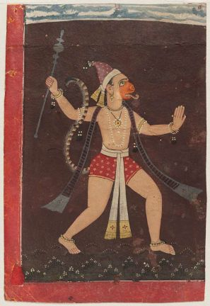 hanuman_painted_by_pahari_painter