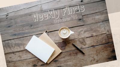 Weekly Finds October Header