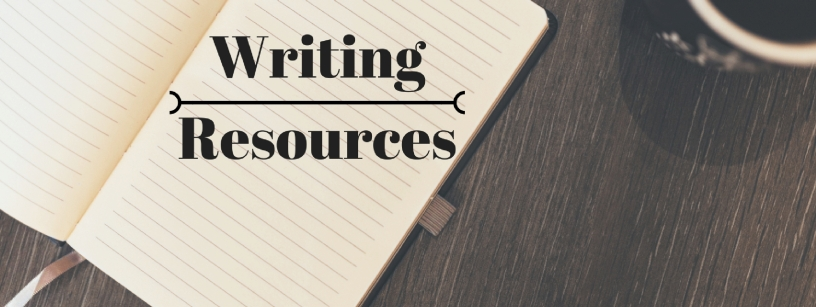 Writing Resources Header