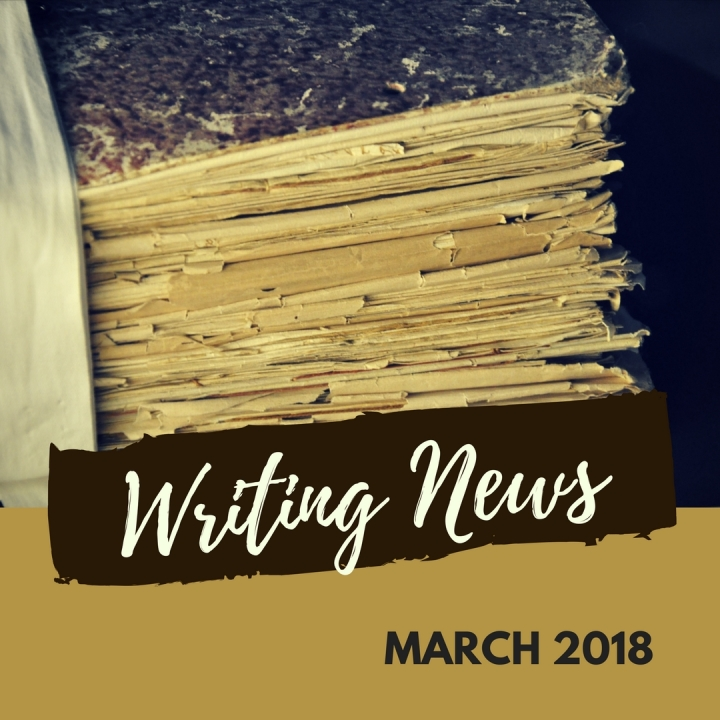 Blog Header - Writing News - March 2018