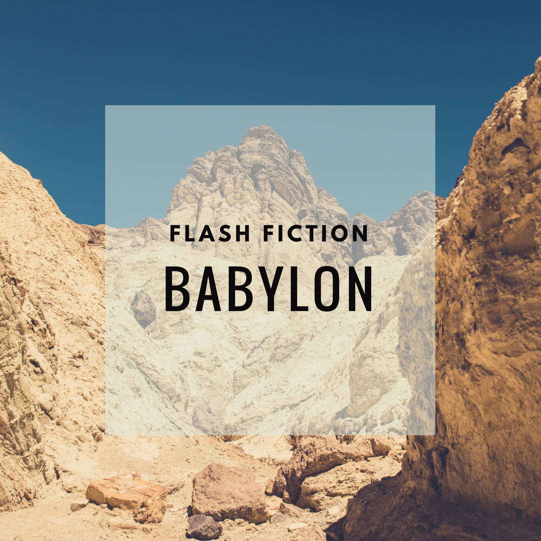 Flash fiction Babylon header
