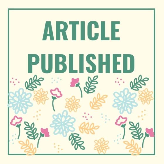 Blog post header for article published