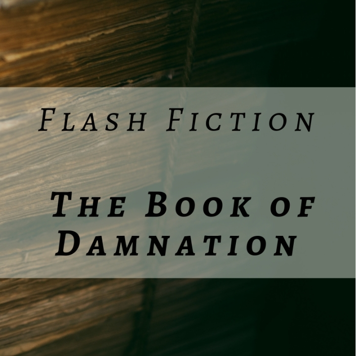 Blog post header_Flash Fiction_The Book of Damnation