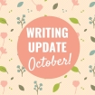 Blog header for October writing update