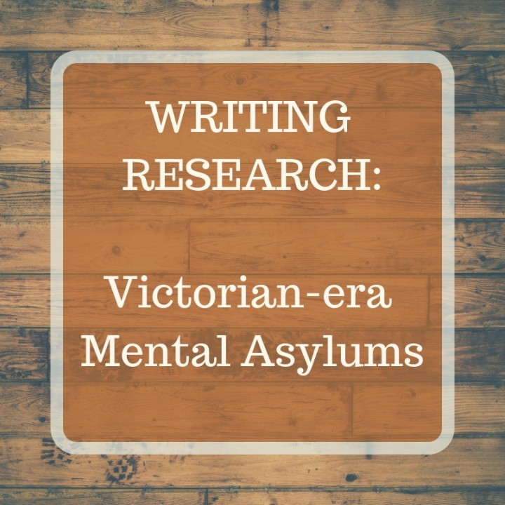 header image for writing research Victorian-era mental asylums