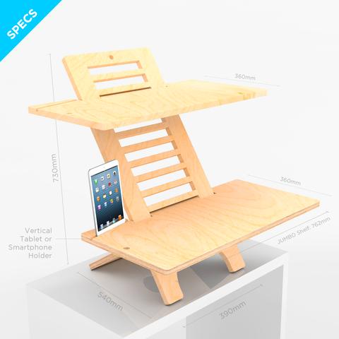 DeskStand Jumbo Desk