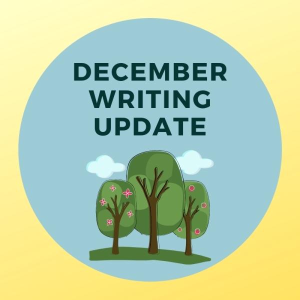 December Writing Update Header