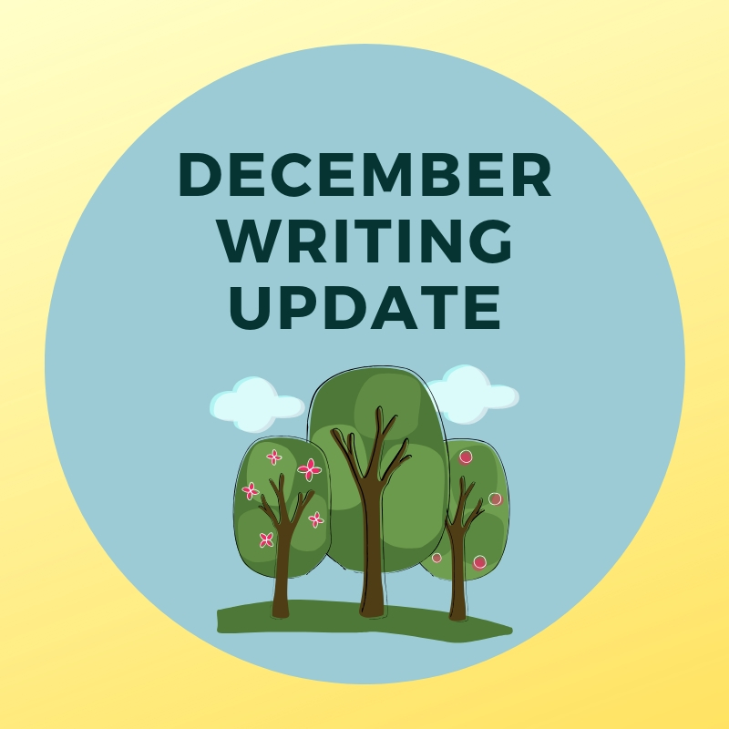 December Writing Update Header