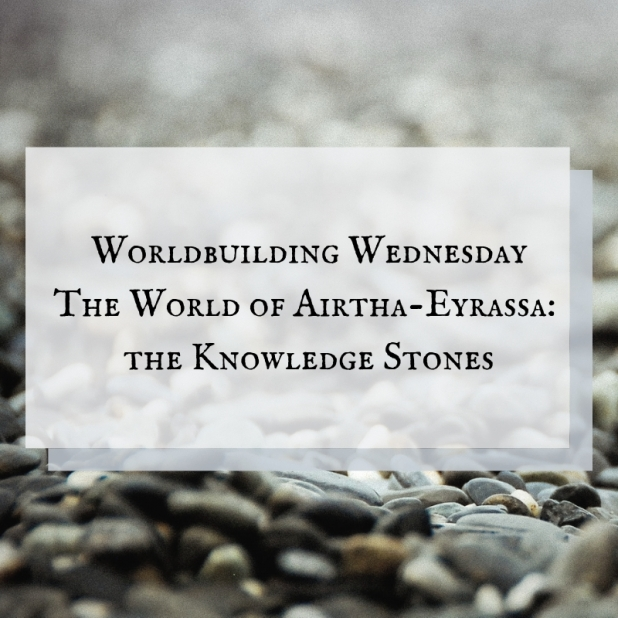 blog header - worldbuilding wednesday the knowledge stones