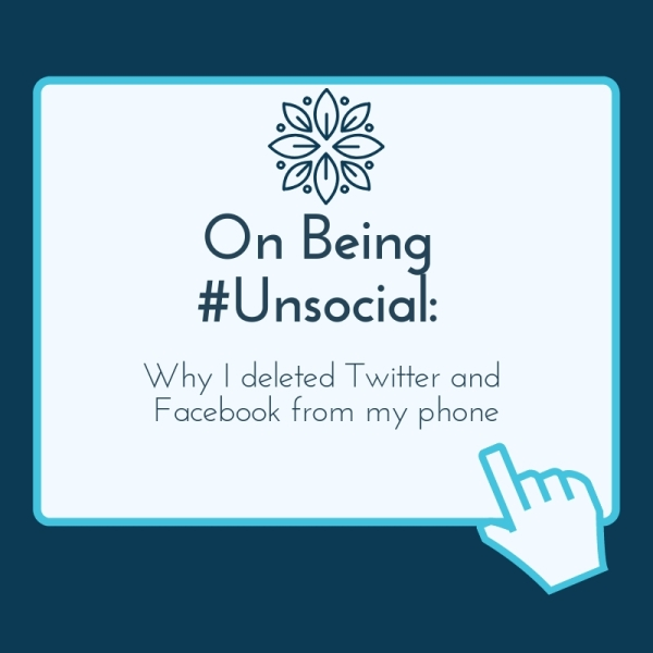 On Being Unsocial Blog Header