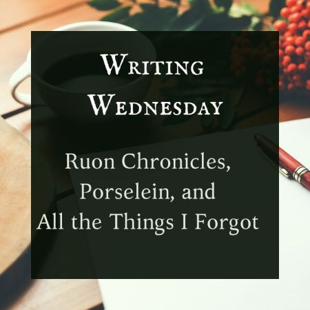 Writing Wednesday Blog Header