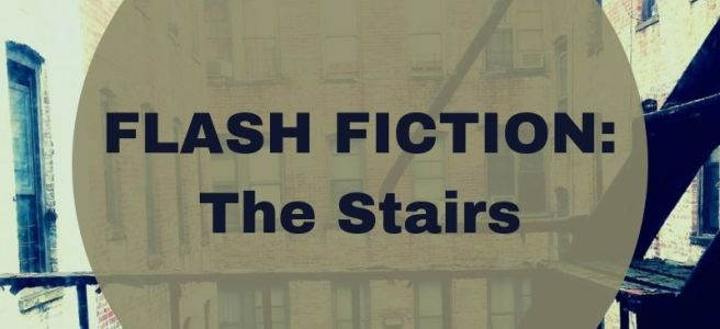 Blog header flash fiction The Stairs