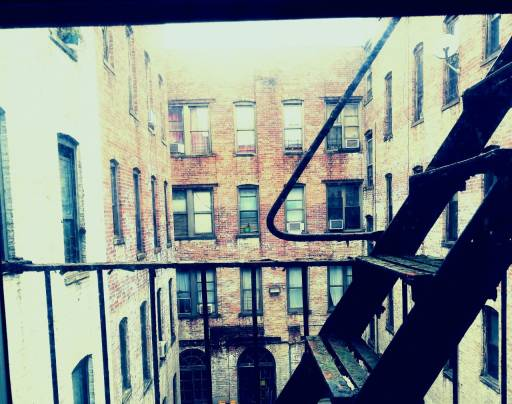 Stairs in New York City